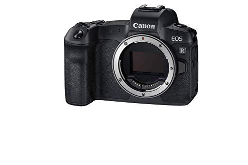 Canon EOS R Vollformat Systemkamera Gehäuse (spiegellos, 30,3 MP, 8,01 cm (3,2 Zoll) Clear View LCD II Display, DIGIC 8, 4K Video, WLAN, Bluetooth), schwarz