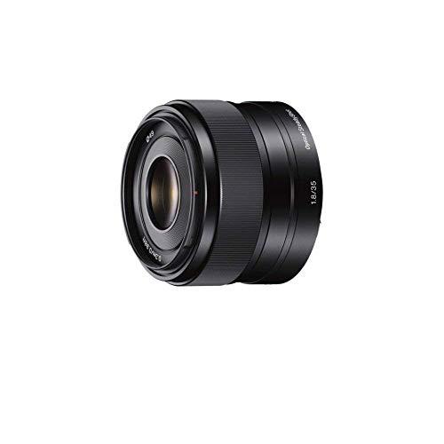 Sony SEL-35F18 Standard-Objektiv (Festbrennweite, 35 mm, F1.8, APS-C, geeignet für A6000, A5100, A5000 und Nex Serien, E-Mount) schwarz