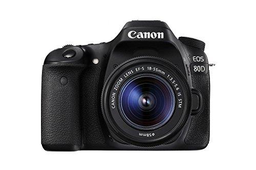 Canon EOS 80D + 18-55mm Objektiv