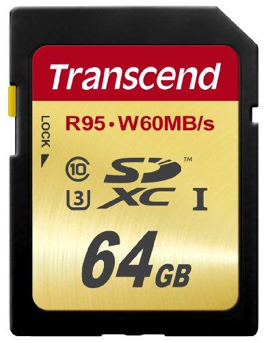 Transcend Speicherkarte 64 GB