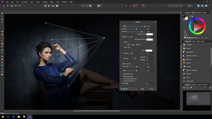 Affinity Photo als Lightroom Alternative