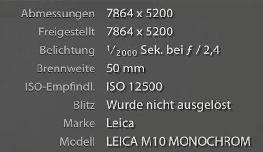 Leica M10 Monochrom mit 41 MP soll 2020 erscheinen | Photografix Magazin