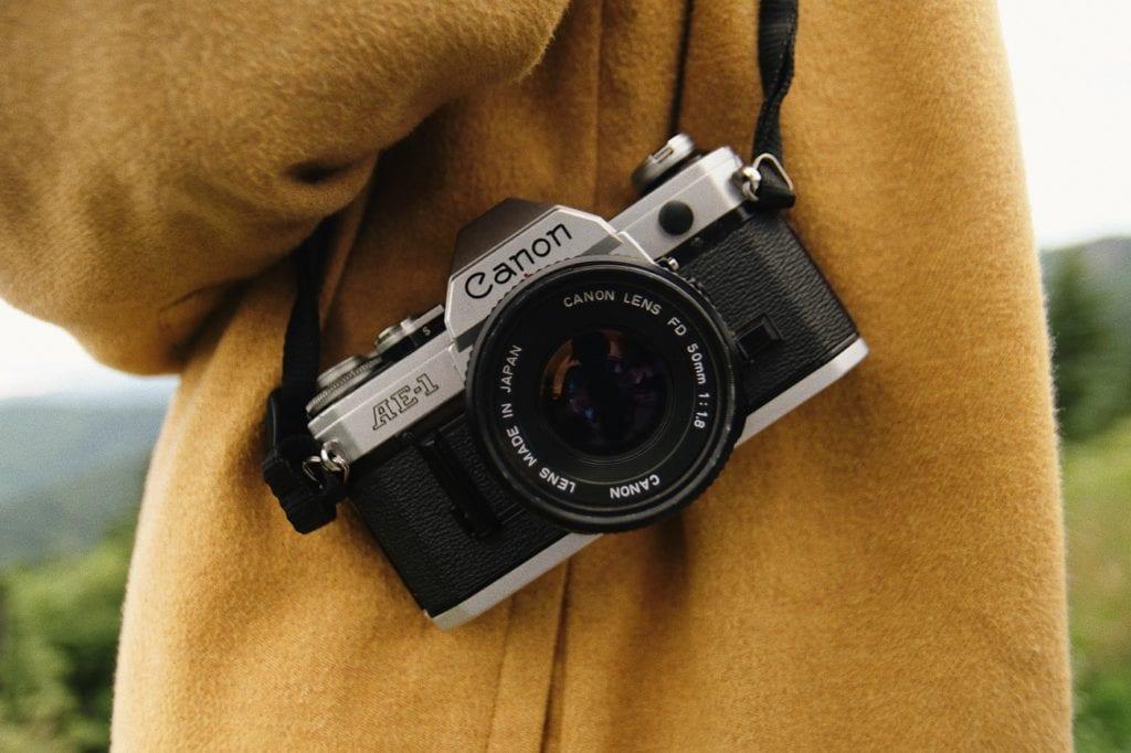 Bild der Canon AE-1