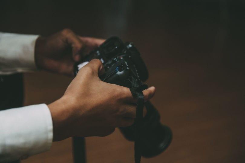 Kameras wie die Canon EOS 5D Mark III haben einen Slot für CF-Speicherkarten zu bieten.