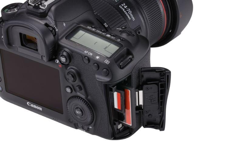 Keine neuen Speicherkarten für die 5D Mark IV. Canon verzichtet auf CFast und UHS-II. | Quelle Bild: Canon