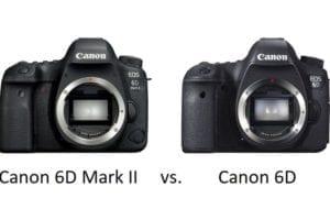 Vergleich zwischen Canon EOS 6D Mark II und Canon EOS 6D