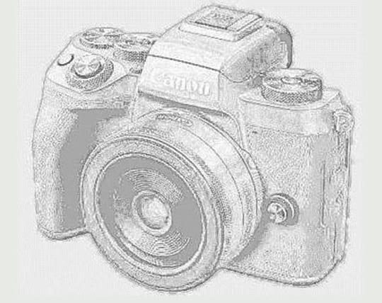 Canon EOS M5 Zeichnung 1