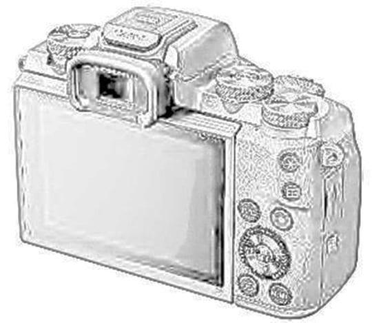 Canon EOS M5 Zeichnung 2