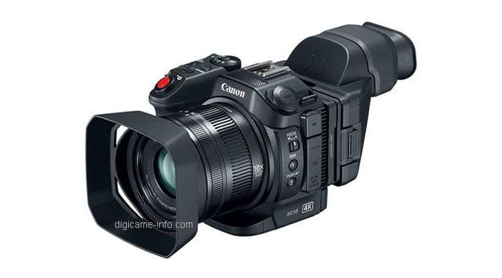 Geleaktes Bild der neuen Canon XC15. Quelle: Digicame Info