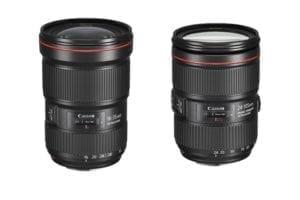 Canon neue Objektive