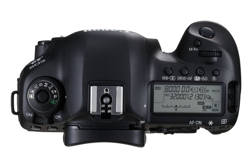 EOS 5D Mark IV TOP