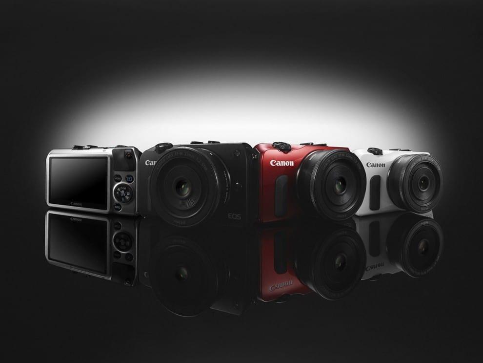 Canon EOS M - die aktuell einzige spiegellose Systemkamera von Canon, die man in Deutschland kaufen kann.