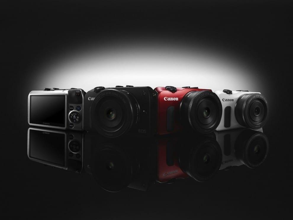 Canon EOS M verschiedene Farben