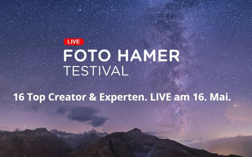 Foto Hamer: Große Online-Hausmesse am 16. Mai 2020 [Anzeige]   Photografix Magazin