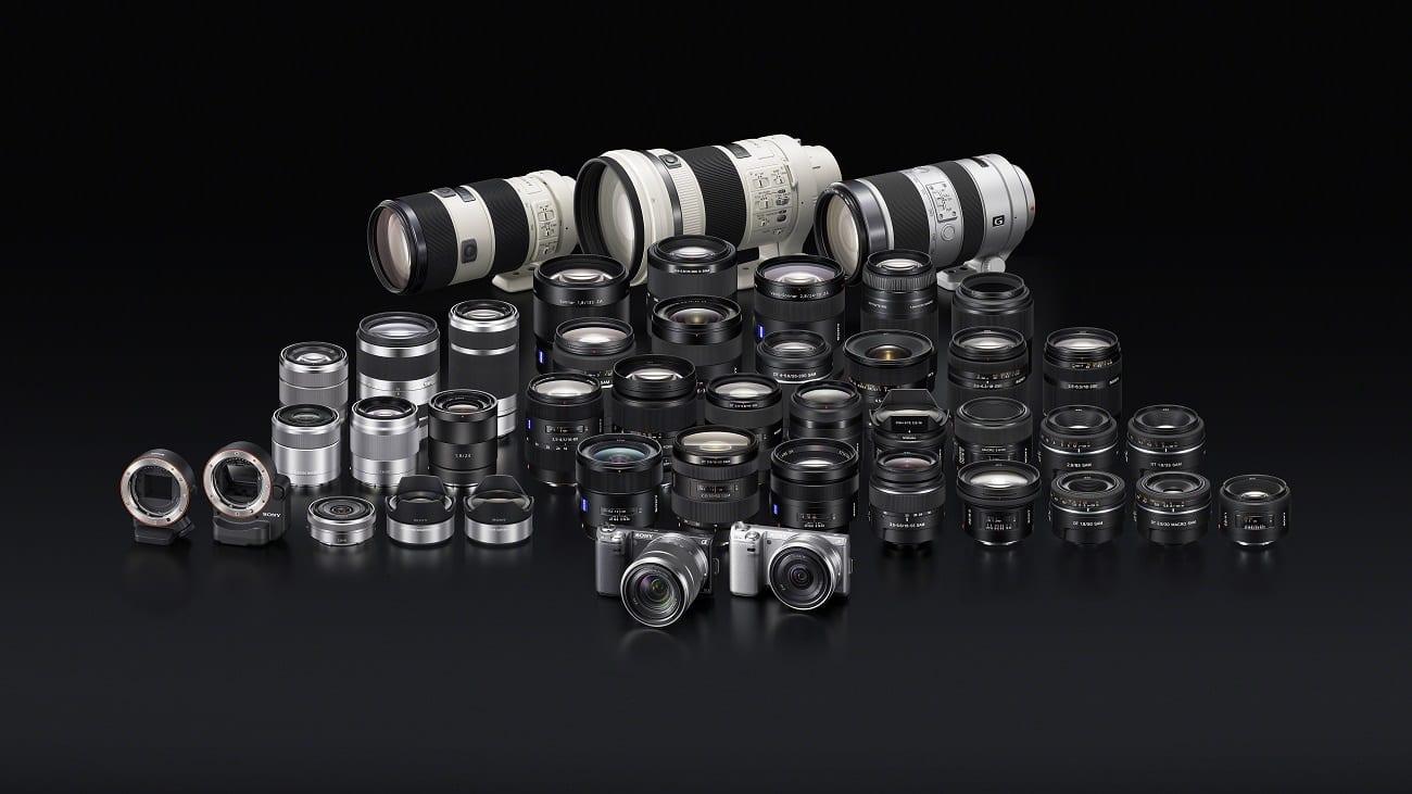 NEX-5N_with lenses