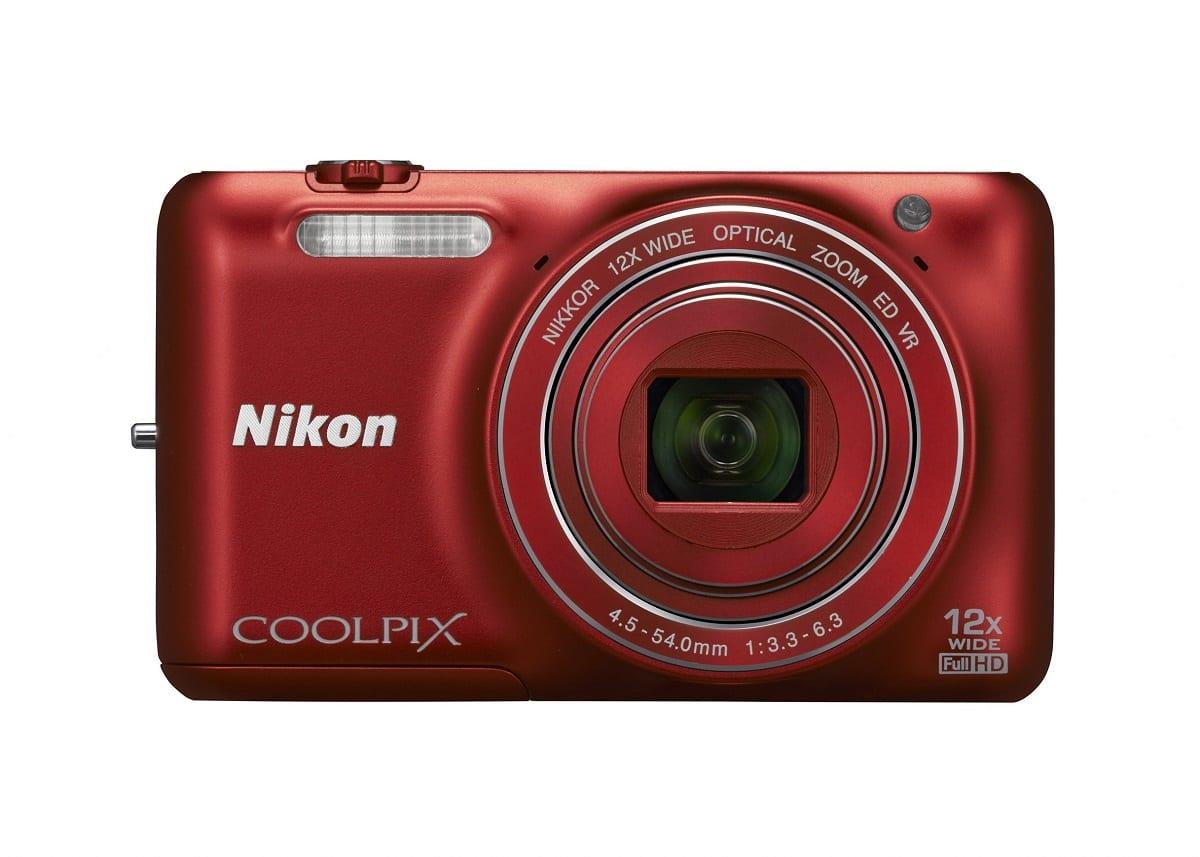 Nikon Coolpix S6600 rot Vorderseite