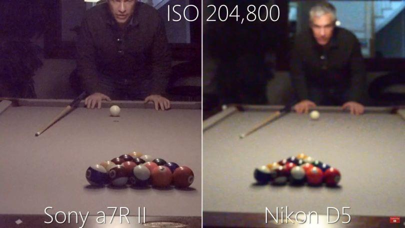 Nikon D5 High ISO
