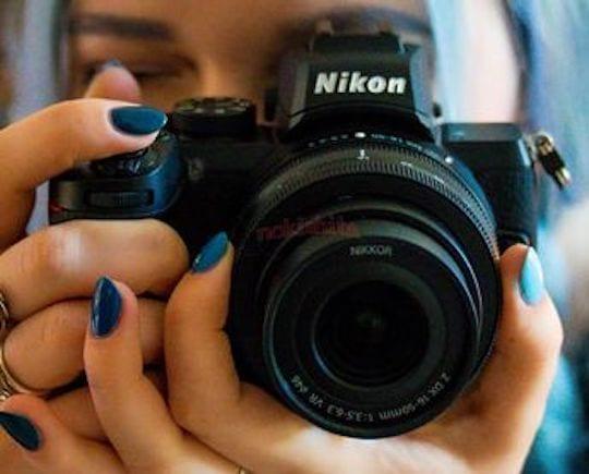 Nikon Z50: Erstes Bild der neuen Kamera geleakt! | Photografix Magazin