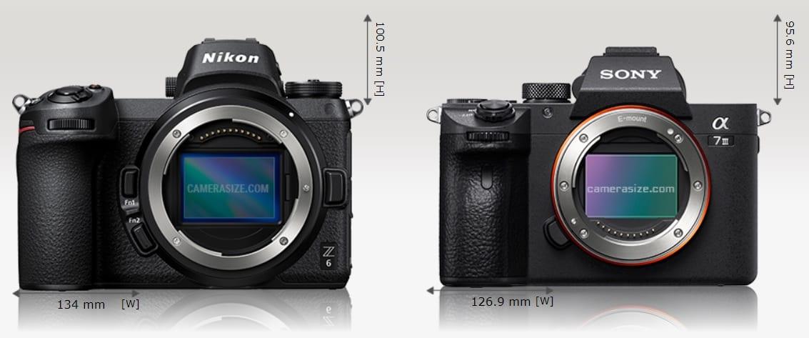 Nikon Z6 vs. Sony A7 III: Wer hat die Nase vorne?
