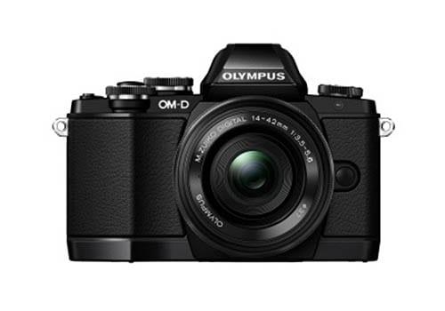 Olympus OM-D E-M10 Leak schwarz