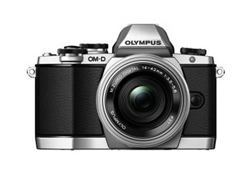 Olympus OM-D E-M10 Leak silber