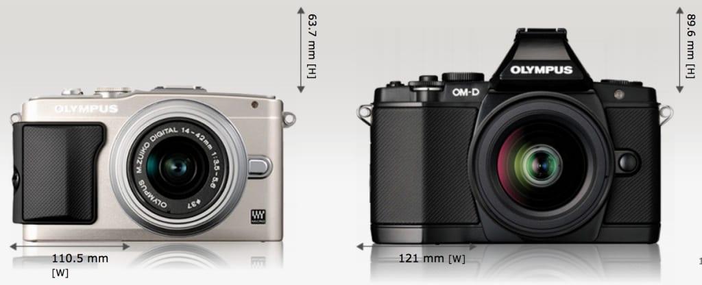 Olympus OM-D E-M5 und E-PL5