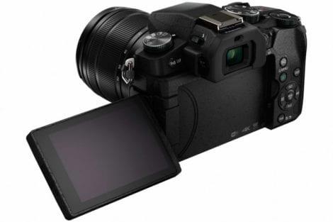 Rückseite der Panasonic G81