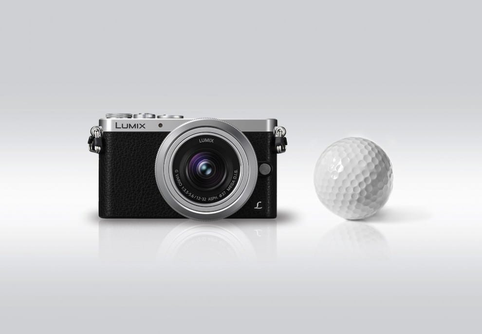 Panasonic LUMIX-DMC-GM1_Groessenvergleich_Golfball