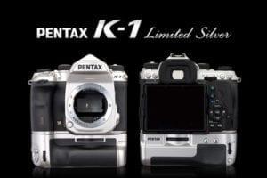 Pentax K-1 in der Farbe silber, limitiert