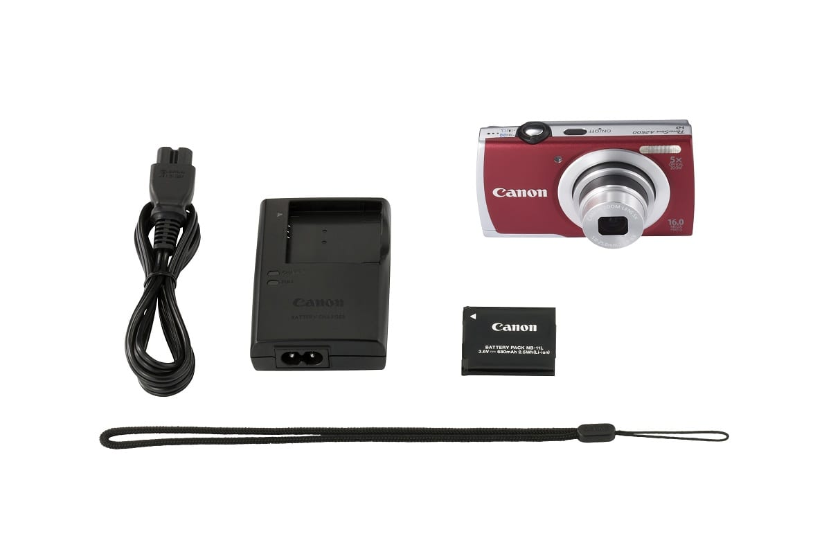 PowerShot A2500 RED KIT 1