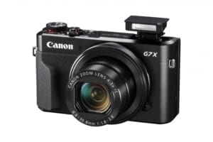 PowerShot G7 X Mark II Flash Up FSL