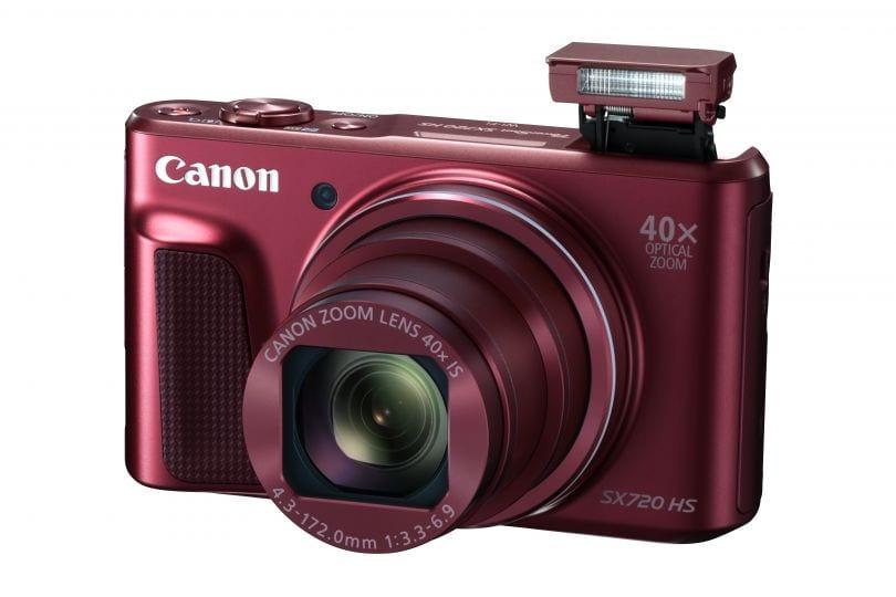 PowerShot SX720 HS RED Flash Up FSL