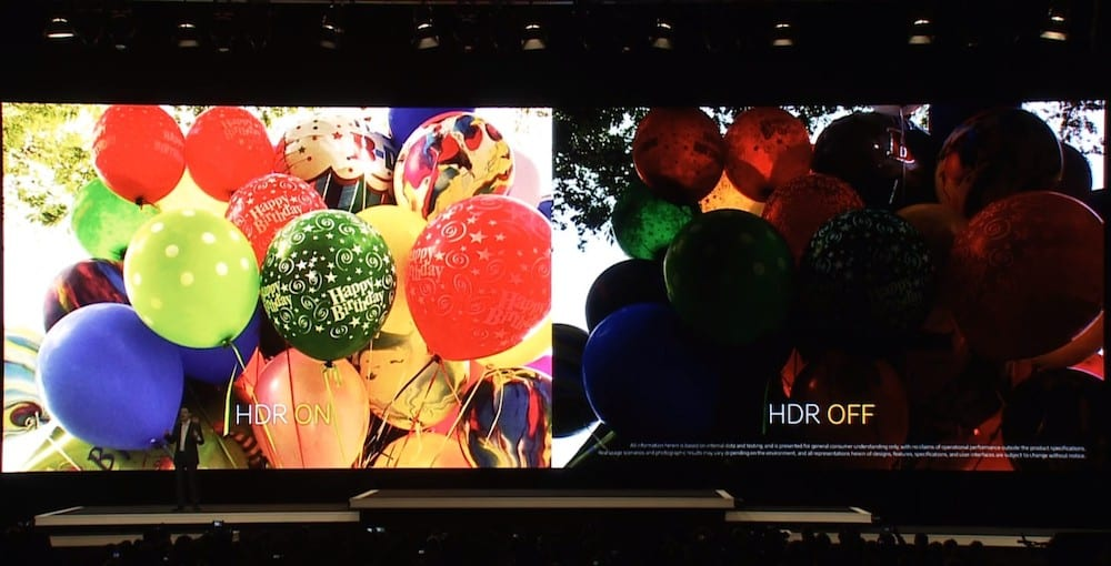 Samsung Galaxy S5 HDR