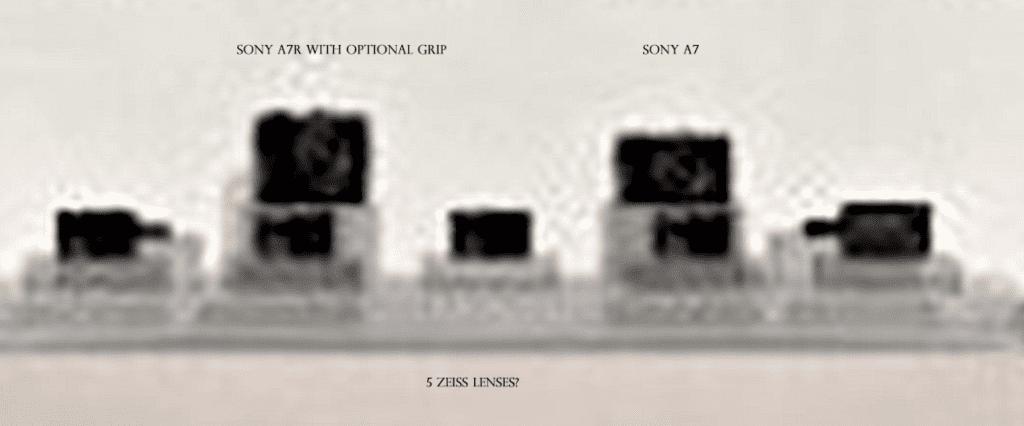 Sony A7 A7r Bild unscharf