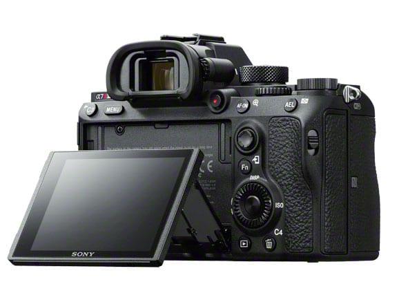 Sony A7r III Rückseite
