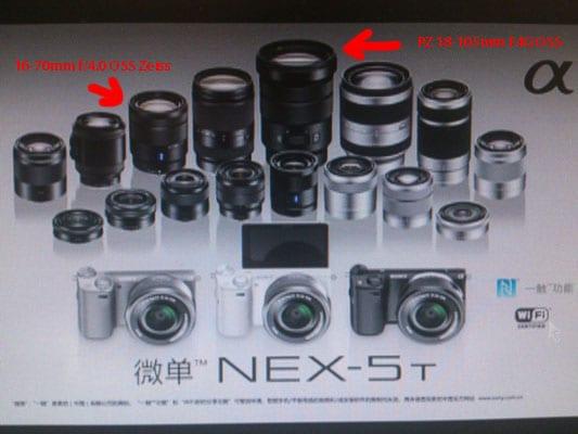 Sony NEX-5T Leak Bild