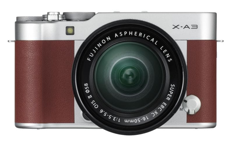 X-A3_Brown_16-50mm_front_09