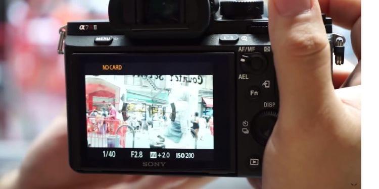 A7r II mit Canon Objektiven