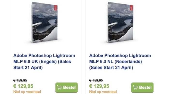 Adobe Lightroom 6 Leak