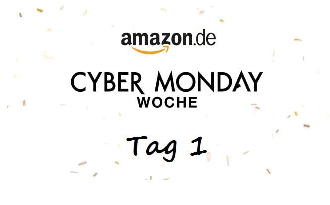 Amazon Cyber Monday Woche Tag 1