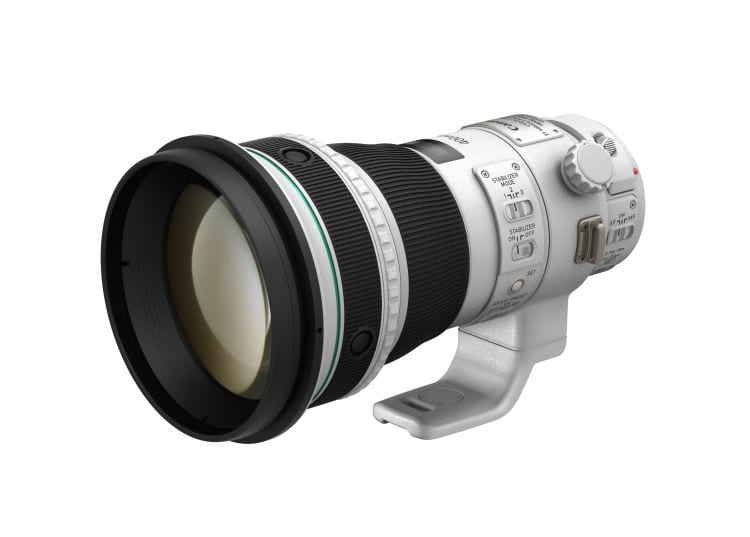 Canon EF 400mm f4 DO IS II USM Slant