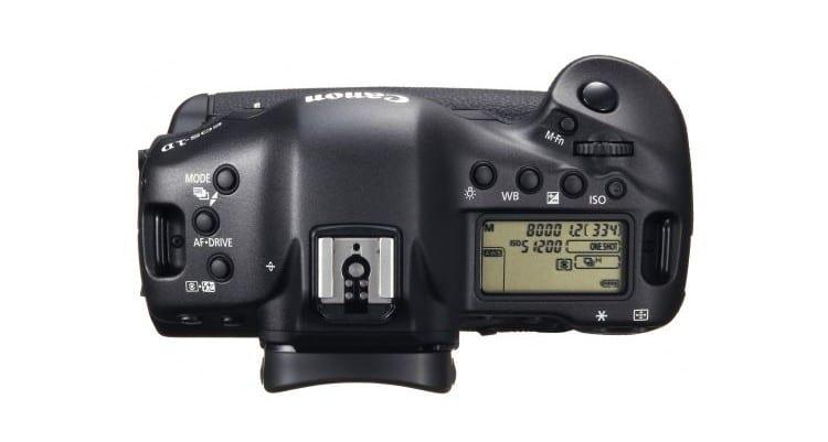 Canon EOS 1 D X Top