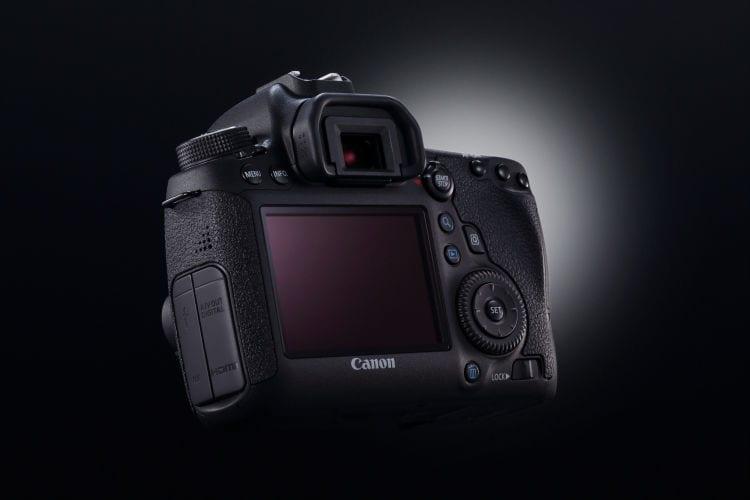 Canon EOS 6D Rückseite