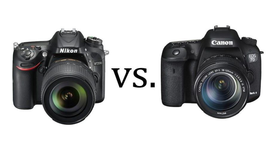 Canon EOS 7D Mark II Nikon D7200 Vergleich