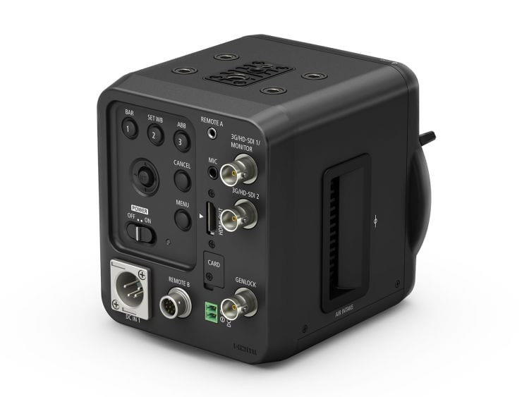 Canon ME20F-SH Rückseite