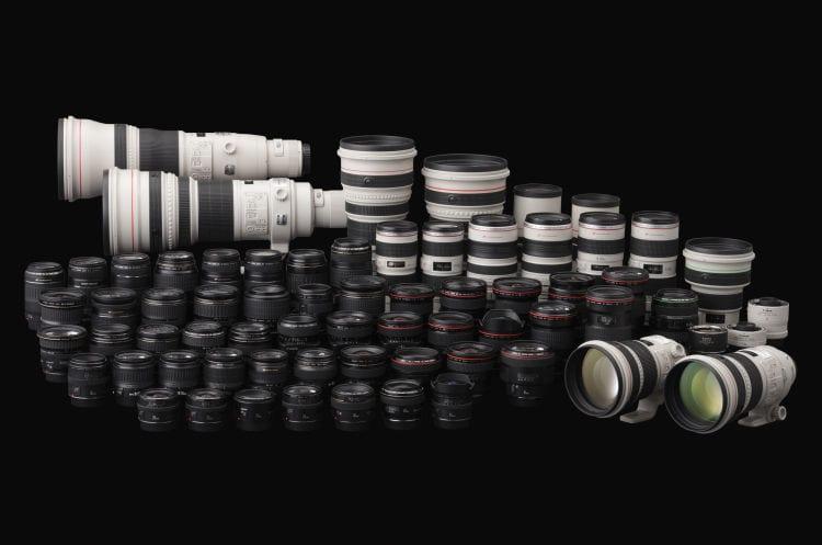 Canon Objektive 1