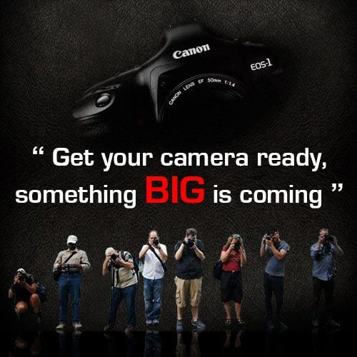 Canon Teaser Something Big