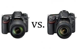 D7200 vs D7100 Vergleich Unterschiede