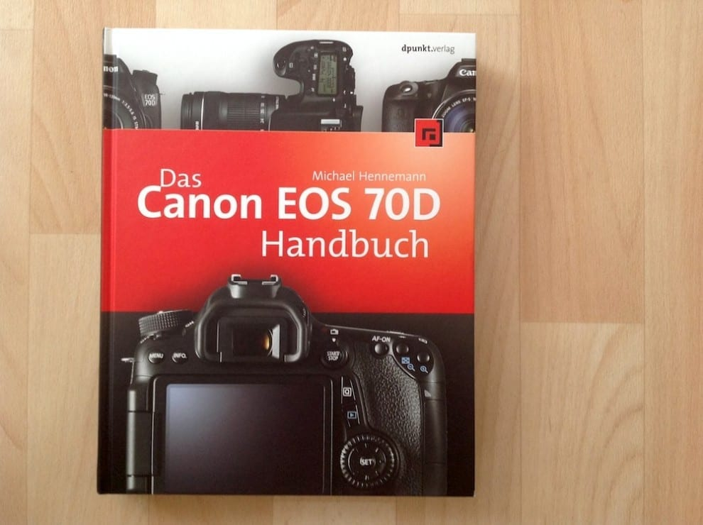 Das EOS 70D Handbuch Rezension