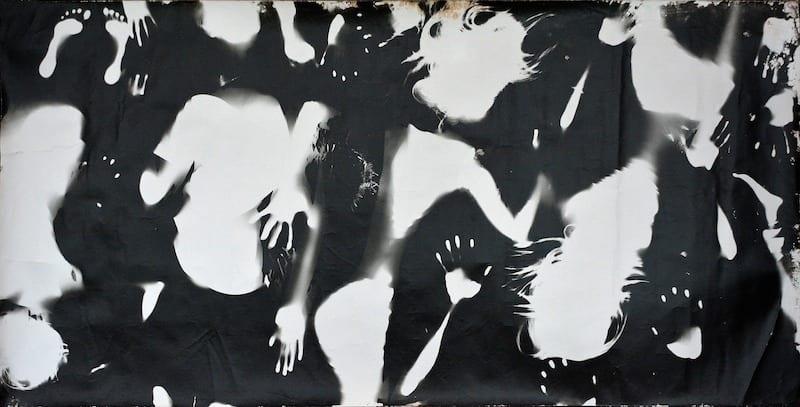 Alchemisten in Pankow, Fotogruppe der Jugendkunstschule Pankow, Berlin, Ø 15 Jahre, Deutscher Jugendfotopreis 2014 Titel: Körperfotogramm